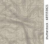 topographic map background... | Shutterstock .eps vector #685553821