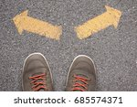 choice concept | Shutterstock . vector #685574371