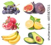 fresh fruit | Shutterstock . vector #685587211