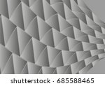 abstract vector background with ... | Shutterstock .eps vector #685588465