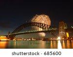 Fireworks Over The Sydney...