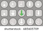 different set of elements for... | Shutterstock .eps vector #685605709
