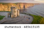 cliffs of moher at the west... | Shutterstock . vector #685615135