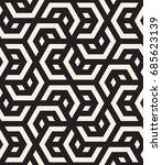 vector seamless pattern. modern ... | Shutterstock .eps vector #685623139