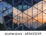 interesting shopping center... | Shutterstock . vector #685633249