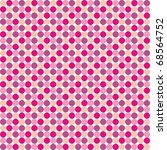 seamless pattern from pink... | Shutterstock . vector #68564752