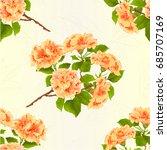 seamless texture branch... | Shutterstock .eps vector #685707169