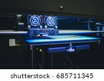 objects printed by 3d printer.... | Shutterstock . vector #685711345