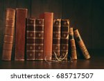 Stack Of Books And School Bell...