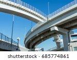 japan highway bridge | Shutterstock . vector #685774861