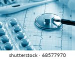 medical background | Shutterstock . vector #68577970