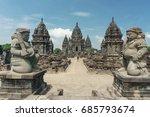 sewu  buddhist temple  prambanan | Shutterstock . vector #685793674
