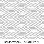 abstract geometric pattern with ... | Shutterstock . vector #685814971