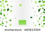 summer sale creative banner... | Shutterstock .eps vector #685815304