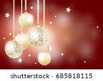 illustration of beautiful... | Shutterstock . vector #685818115