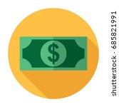 money icon | Shutterstock .eps vector #685821991