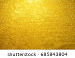 gold glittering christmas...   Shutterstock . vector #685843804