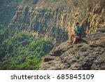 india  goa   january 27  2017 ...   Shutterstock . vector #685845109
