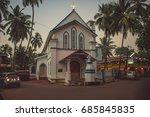 india  goa   november 27  2016  ... | Shutterstock . vector #685845835