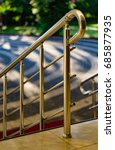 Small photo of handrail and straits