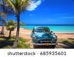 varadero  cuba   may  22  2013  ... | Shutterstock . vector #685935601