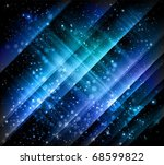 abstract blue backgrounds - stock vector