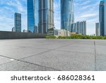 cityscape and skyline of... | Shutterstock . vector #686028361