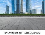 cityscape and skyline of...   Shutterstock . vector #686028409