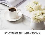 beautiful white background of... | Shutterstock . vector #686050471