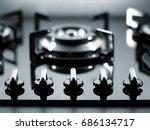 close up oven detail | Shutterstock . vector #686134717
