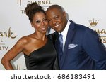 Small photo of LOS ANGELES - JUL 27: Holly Robinson Peete, Rodney Peete at the Hallmark TCA Summer 2017 Party at the Private Residence on July 27, 2017 in Beverly Hills, CA