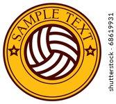 Football Club Emblem  Label ...
