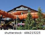 niagara falls  canada    june...   Shutterstock . vector #686215225