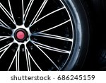 tire and alloy | Shutterstock . vector #686245159