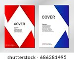 Abstract Cover Backgrounds Wit...