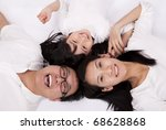 happy asian family | Shutterstock . vector #68628868