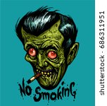 """no smoking"" smoke sign.... 