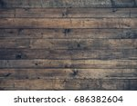 Dark Brown Wooden Background....
