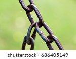 chain | Shutterstock . vector #686405149