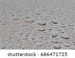 drops of water | Shutterstock . vector #686471725