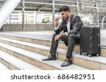 businessman are lose to earn a...