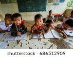 tak thailand  november 24 2011  ... | Shutterstock . vector #686512909