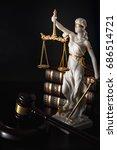 legal code  enforcement of the... | Shutterstock . vector #686514721