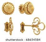 Golden Door Handle And The...