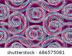colorful abstract background...   Shutterstock .eps vector #686575081