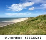 Panoramic View Of Beach With...