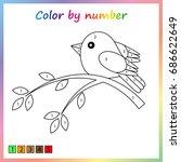 worksheet for education.... | Shutterstock .eps vector #686622649