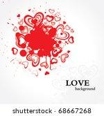 design for valentine's day   Shutterstock .eps vector #68667268