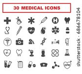 medical icon | Shutterstock .eps vector #686678104