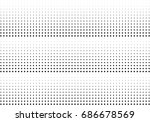 abstract halftone dotted... | Shutterstock .eps vector #686678569